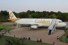 kinsanさんが、Shwe Pyi Resort Bagoで撮影したゴールデン・ミャンマー・エアラインズ A320-232の航空フォト(飛行機 写真・画像)