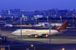 まったり屋さんが、羽田空港で撮影したエア・インディア 747-437の航空フォト(写真)