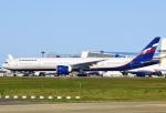 あしゅーさんが、成田国際空港で撮影したアエロフロート・ロシア航空 777-3M0/ERの航空フォト(飛行機 写真・画像)