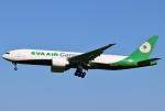 あしゅーさんが、成田国際空港で撮影したエバー航空 777-F5Eの航空フォト(飛行機 写真・画像)