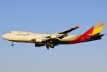 あしゅーさんが、成田国際空港で撮影したアシアナ航空 747-48EF/SCDの航空フォト(飛行機 写真・画像)