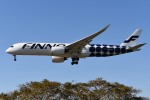 さくらの城南山。さんが、成田国際空港で撮影したフィンエアー A350-941XWBの航空フォト(写真)