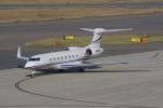 yabyanさんが、中部国際空港で撮影したTVPX AIRCRAFT SOLUTIONS INC TRUSTEE G650ER (G-VI)の航空フォト(飛行機 写真・画像)