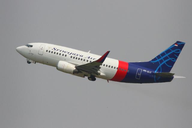 AkilaYさんが、スカルノハッタ国際空港で撮影したスリウィジャヤ航空 737-524の航空フォト(飛行機 写真・画像)