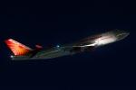 多摩川崎2Kさんが、羽田空港で撮影したエア・インディア 747-437の航空フォト(写真)