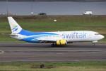 masa707さんが、ポートランド国際空港で撮影したスウィフト・エア 737-401の航空フォト(写真)