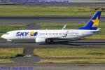 Chofu Spotter Ariaさんが、羽田空港で撮影したスカイマーク 737-8ALの航空フォト(飛行機 写真・画像)