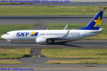 Chofu Spotter Ariaさんが、羽田空港で撮影したスカイマーク 737-8FZの航空フォト(飛行機 写真・画像)