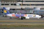 eagletさんが、羽田空港で撮影したスカイマーク 737-81Dの航空フォト(写真)
