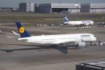 eagletさんが、羽田空港で撮影したルフトハンザドイツ航空 A350-941XWBの航空フォト(写真)