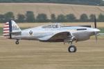 MOR1(新アカウント)さんが、ダックスフォード飛行場で撮影したThe Fighter Collection P-40C Warhawkの航空フォト(飛行機 写真・画像)