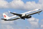 masa707さんが、福岡空港で撮影した中国国際航空 A321-232の航空フォト(写真)