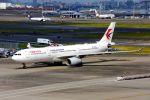 まいけるさんが、羽田空港で撮影した中国東方航空 A330-343Xの航空フォト(写真)