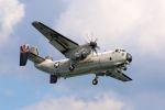 kazuchiyanさんが、岩国空港で撮影したアメリカ海軍 C-2A Greyhoundの航空フォト(写真)