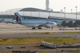 船も好きよさんが、関西国際空港で撮影したカタール航空 A330-202の航空フォト(飛行機 写真・画像)