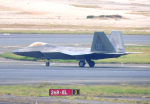 485k60さんが、ダニエル・K・イノウエ国際空港で撮影したアメリカ空軍 F-22A-20-LM Raptorの航空フォト(写真)