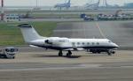 485k60さんが、羽田空港で撮影したアメリカ個人所有 G-IV Gulfstream IV-SPの航空フォト(写真)