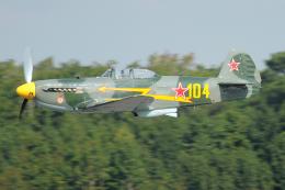 Tomo-Papaさんが、オシアナ海軍航空基地アポロソーセックフィールドで撮影したアメリカ企業所有 Yak-9の航空フォト(飛行機 写真・画像)