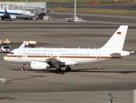 FT51ANさんが、羽田空港で撮影したドイツ空軍 A319-133X CJの航空フォト(飛行機 写真・画像)
