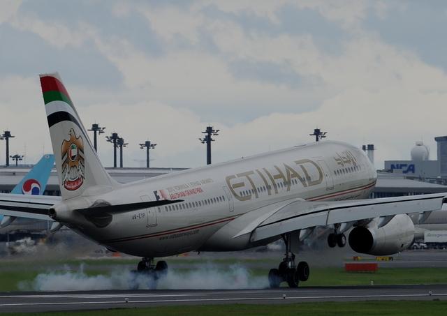 Jolly-beeさんが、成田国際空港で撮影したエティハド航空 A330-243の航空フォト(飛行機 写真・画像)