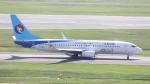 誘喜さんが、シンガポール・チャンギ国際空港で撮影した河北航空 737-8LWの航空フォト(写真)