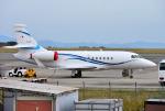 mojioさんが、静岡空港で撮影した日本法人所有 Falcon 2000の航空フォト(飛行機 写真・画像)
