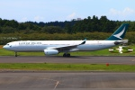 Kuuさんが、成田国際空港で撮影したキャセイパシフィック航空 A330-343Xの航空フォト(飛行機 写真・画像)