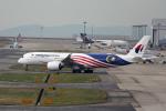 takepapaさんが、関西国際空港で撮影したマレーシア航空 A350-941の航空フォト(飛行機 写真・画像)