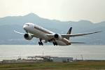 takepapaさんが、関西国際空港で撮影したシンガポール航空 787-10の航空フォト(飛行機 写真・画像)