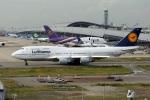 takepapaさんが、関西国際空港で撮影したルフトハンザドイツ航空 747-430の航空フォト(飛行機 写真・画像)