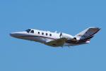 yabyanさんが、名古屋飛行場で撮影したグラフィック 525A Citation CJ1の航空フォト(飛行機 写真・画像)