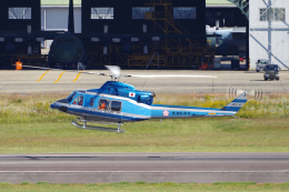 yabyanさんが、名古屋飛行場で撮影した愛知県警察 412EPの航空フォト(飛行機 写真・画像)