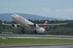k-spotterさんが、チューリッヒ空港で撮影したスイスインターナショナルエアラインズ A330-343Xの航空フォト(写真)