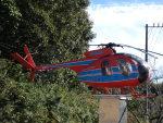 ユターさんが、航空科学博物館で撮影した新日本ヘリコプター 369HSの航空フォト(写真)