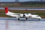 もぐ3さんが、新潟空港で撮影した日本エアコミューター DHC-8-402Q Dash 8の航空フォト(写真)