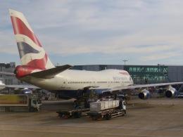 マッペケさんが、ロンドン・ヒースロー空港で撮影したブリティッシュ・エアウェイズ 747-436の航空フォト(飛行機 写真・画像)