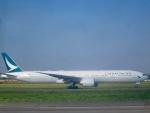 マッペケさんが、レオナルド・ダ・ヴィンチ国際空港で撮影したキャセイパシフィック航空 777-367/ERの航空フォト(写真)