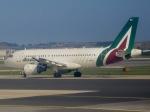 マッペケさんが、レオナルド・ダ・ヴィンチ国際空港で撮影したアリタリア航空 A319-112の航空フォト(写真)
