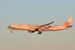 syunさんが、成田国際空港で撮影したチャイナエアライン A350-941XWBの航空フォト(写真)