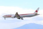 syunさんが、千歳基地で撮影した航空自衛隊 777-3SB/ERの航空フォト(写真)