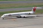 セブンさんが、羽田空港で撮影した日本航空 MD-90-30の航空フォト(飛行機 写真・画像)