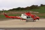 ドリさんが、福島空港で撮影した仙台市消防航空隊 412EPの航空フォト(写真)