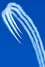 まいけるさんが、入間飛行場で撮影した航空自衛隊 T-4の航空フォト(写真)
