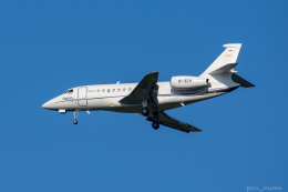 ぱん_くまさんが、成田国際空港で撮影した不明 Falcon 2000EXの航空フォト(写真)