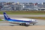 funi9280さんが、福岡空港で撮影したANAウイングス 737-54Kの航空フォト(飛行機 写真・画像)