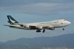 k-spotterさんが、関西国際空港で撮影したキャセイパシフィック航空 747-467F/ER/SCDの航空フォト(写真)