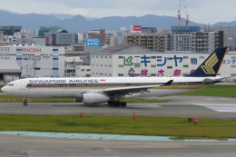 SFJ_capさんが、福岡空港で撮影したシンガポール航空 A330-343Xの航空フォト(飛行機 写真・画像)