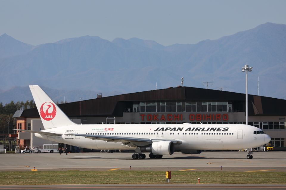 ATOMさんの日本航空 Boeing 767-300 (JA657J) 航空フォト