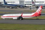 SFJ_capさんが、福岡空港で撮影した中国聯合航空 737-89Pの航空フォト(写真)