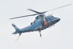 500さんが、四日市港霞ふ頭で撮影した三重県警察 A109E Powerの航空フォト(写真)